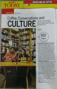 We were featured inside the April 2015 Pune Special issue of India Today Magazine