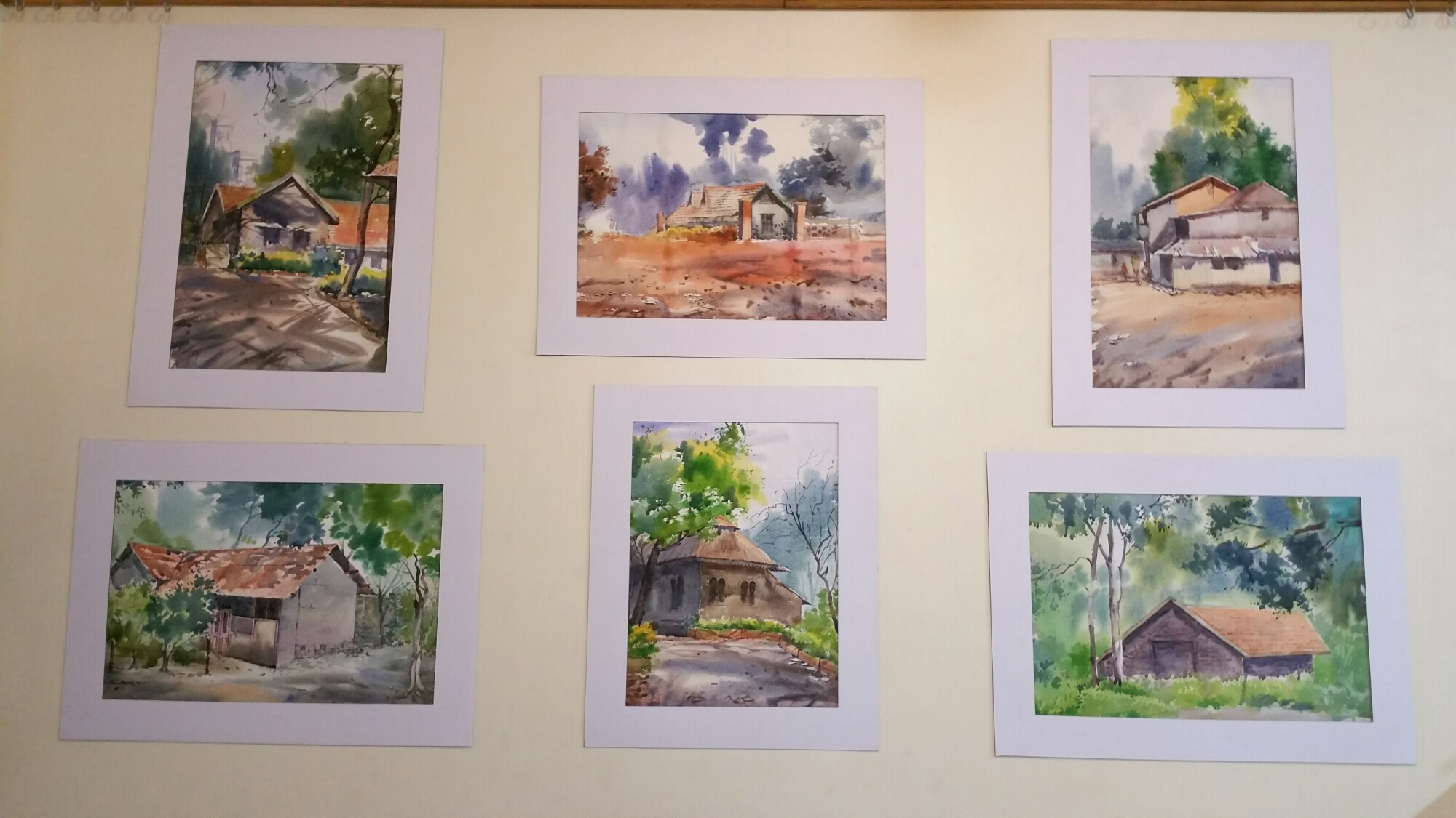 Watercolour Art Exhibition by Nachiket Prakash
